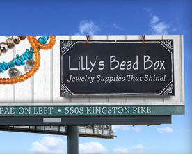 Lilly's Bead Box Billboard
