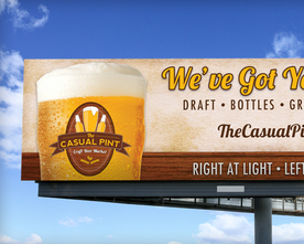 The Casual Pint Billboard
