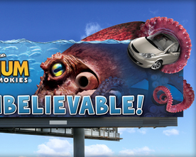 Ripley's Octopus Billboard