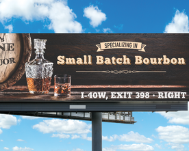MC's Wine & Liquor Buorbon Billboard