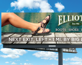 Elliott's Female Sandals Billboard