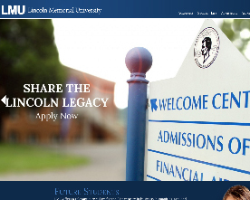 Lincoln Memorial University Website