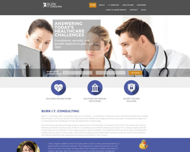 Burk I.T. Consulting Website