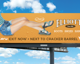 Elliotts Boots 2016 Sandals Billboard