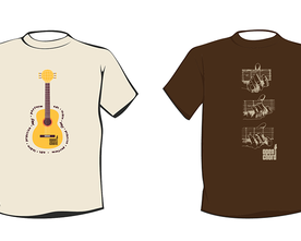 The Open Chord T-Shirt Designs