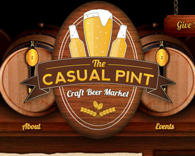 The Casual Pint Website
