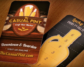 The Casual Pint Loyalty Card