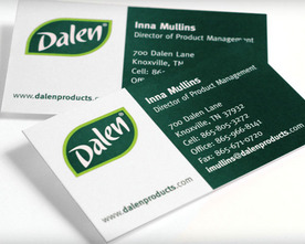 Dalen Business Cards