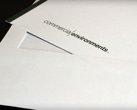 Commercial Environments Stationery