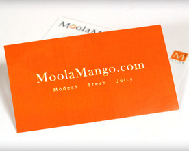 Moola Mango Business Cards