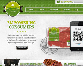 Southern Natural Foods Website