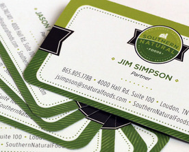 Southern Natural Foods Business Cards