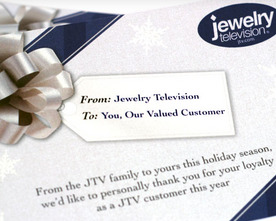 Jewelry Television Holiday Mailer