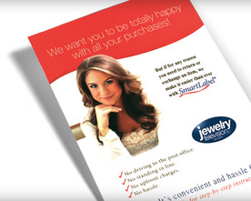 Jewelry Television Loyalty Flyer