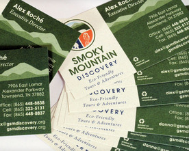 Smoky Mountain Discovery Business Cards