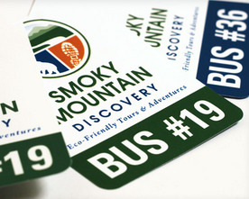Smoky Mountain Discovery Car Tags