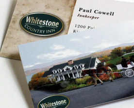 Whitestone Business Cards