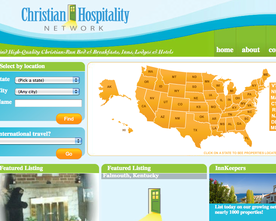 Christian Hospitality Network Website