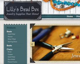 Lilly's Bead Box Website