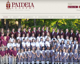 Paideia Academy Website
