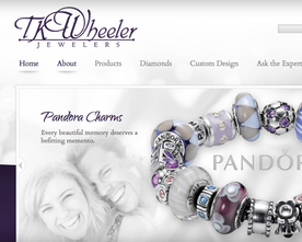 TK Wheeler Jewelers Website